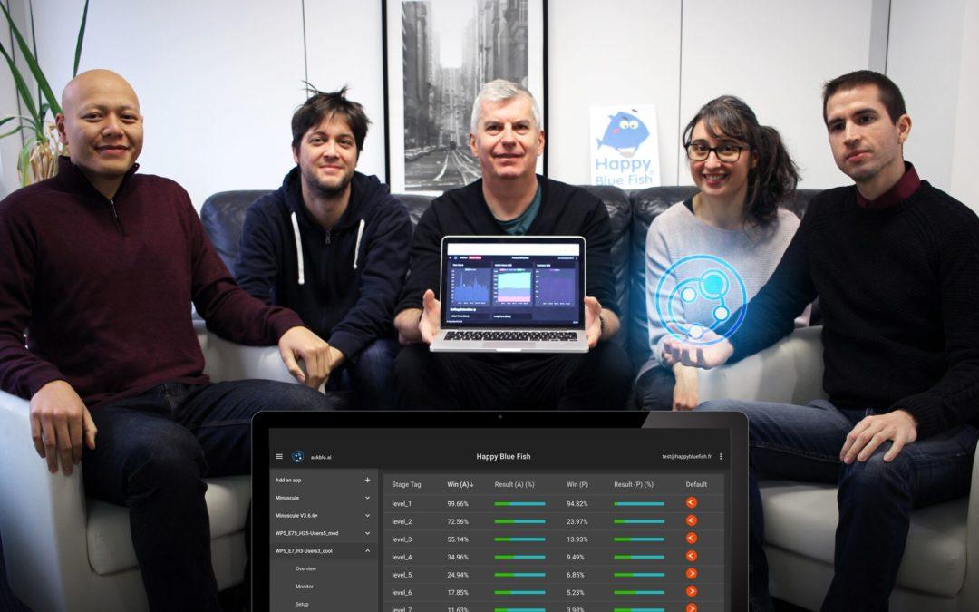 Nouvelle levée de fonds organisée par AGORA : askblu.ai, solution IA en SaaS pour améliorer la rétention des joueurs de jeux vidéo par la personnalisation en temps-réel