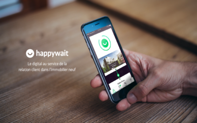 ANAXAGO, BREIZH'UP and AGORA support HAPPYWAIT in the digitalisation of the real estate development in France and Europe